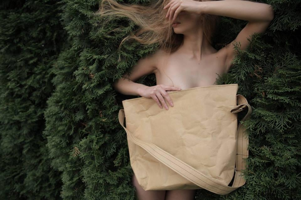 Pandamito torba z papieru