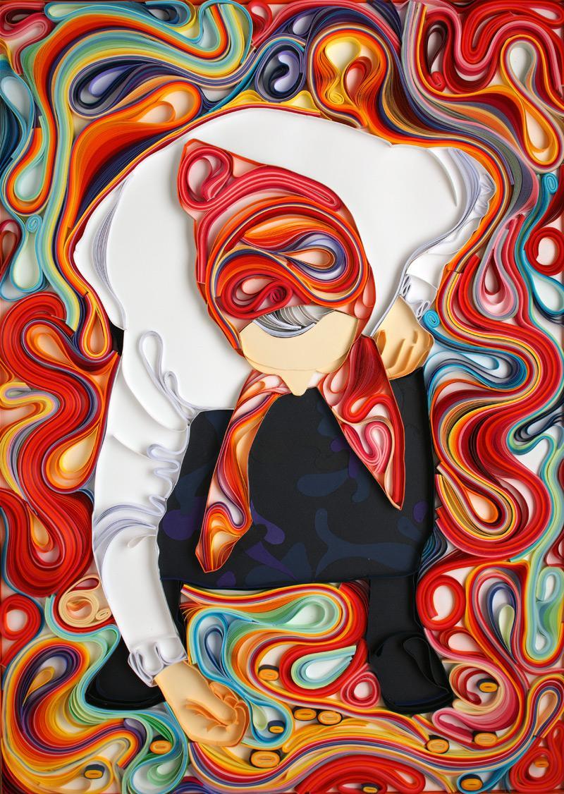 Quilling by Yulia Brodskaya