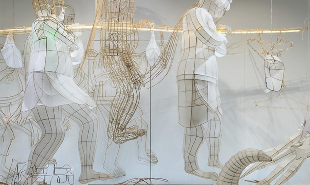 Chińskie olbrzymie lampiony by Ai WeiWei