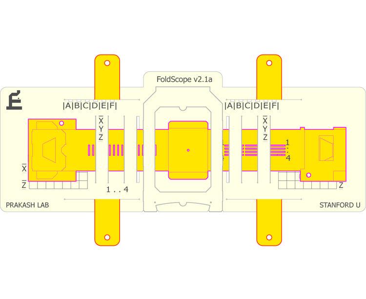 Foldscope papierowy mikroskop