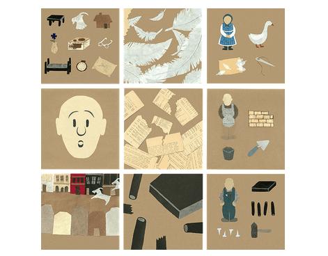 Ilustracje Inspirowane Codziennością Papierowy Dizajn