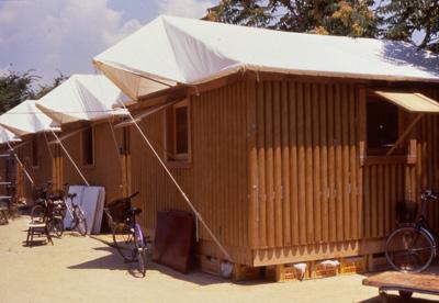 Paper Log House Shigeru Ban