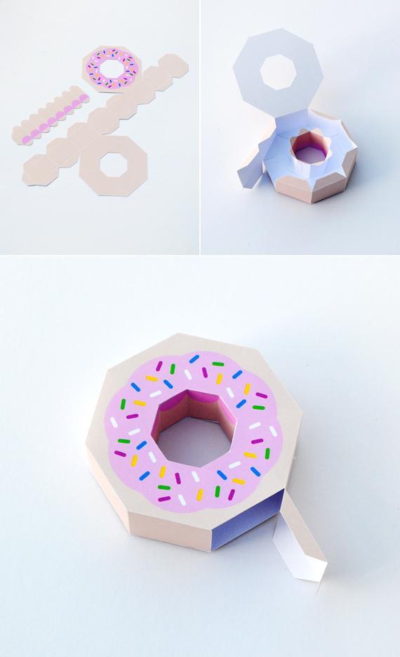 MiniEco pączek pudełko
