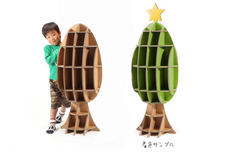 Tsuchinoco meble z tektury dla dzieci