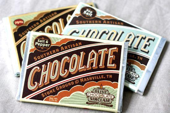 opakowanie czekolady