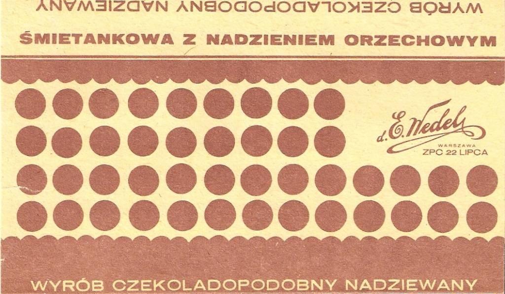 wyrób czekoladopodobny PRL