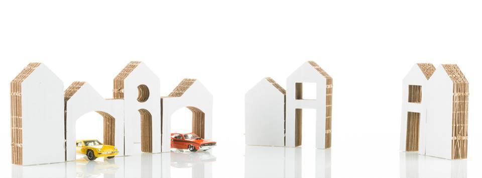 Tekturowe domki Kidy