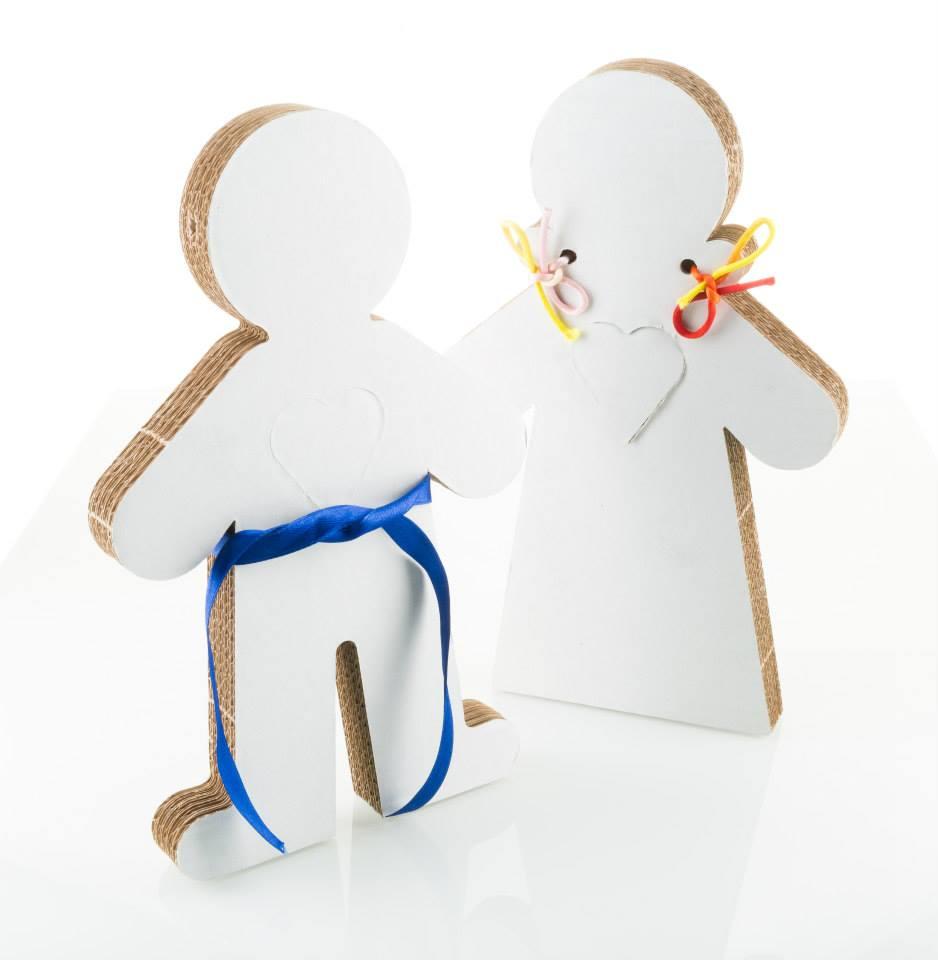Tekturowa lalka Kidy