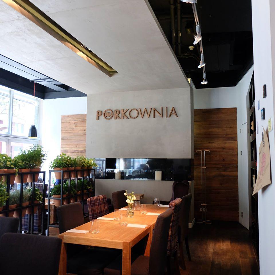 Porkownia restauracja, która stawia na papier