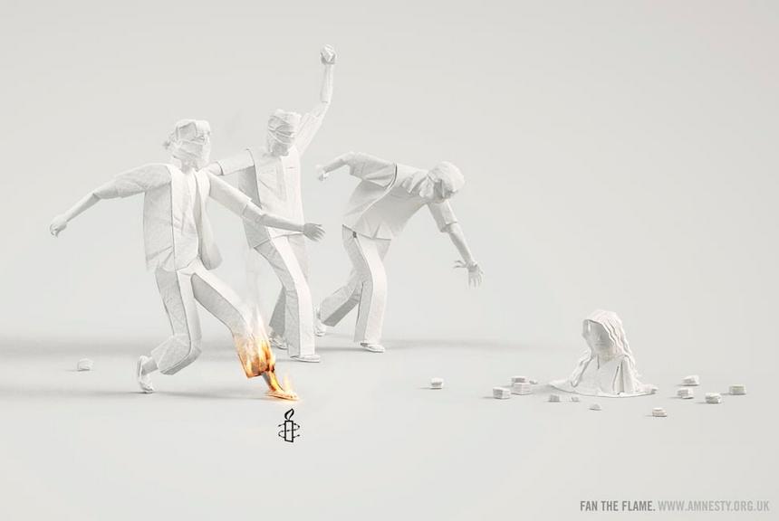Fan the flame Amnesty International
