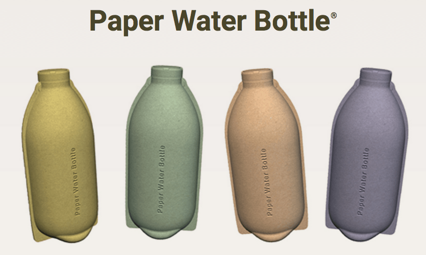 Paper water bottle