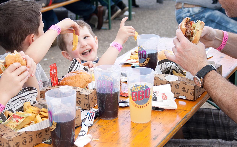 Hot!BBQ Burger Crate grillowanie z pomysłem