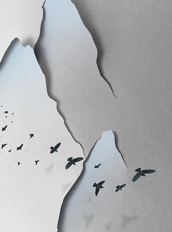 Eiko Ojali Paper Art