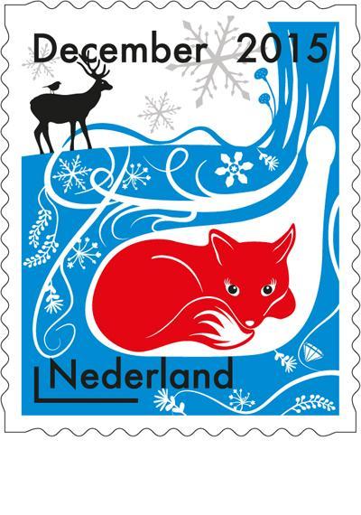 Świąteczne znaczki pocztowe w Holandii