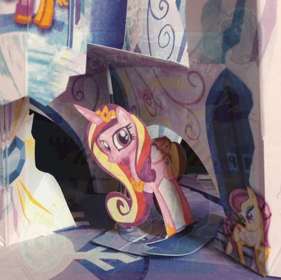 koniki pony ksiązka pop-up