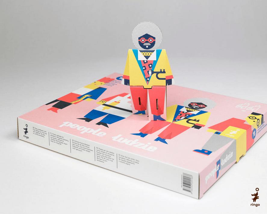 Zabawki papierowe Ringo