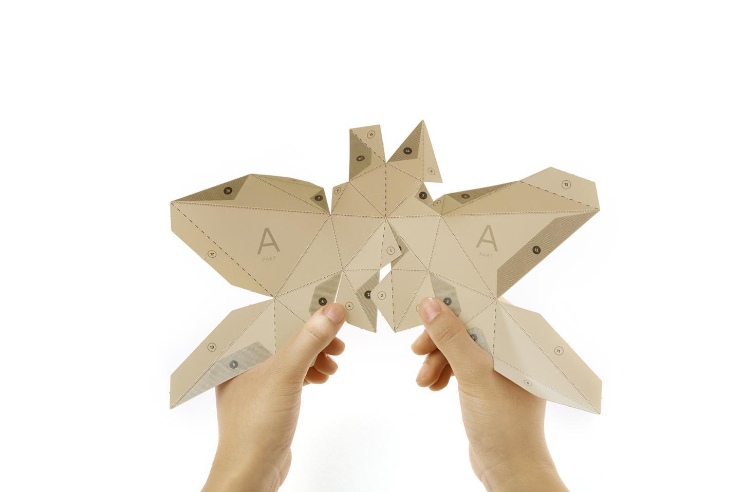 papierowe trofea by PAPA
