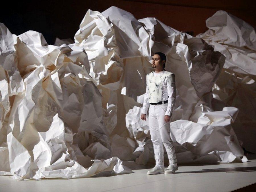 Papierowa scenografia