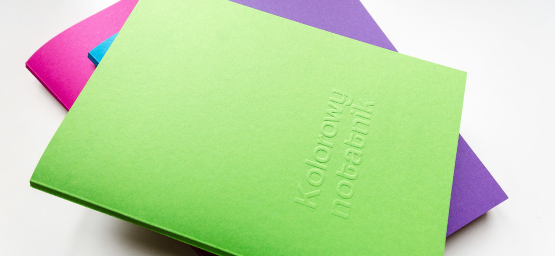 Europapier Kolorowe notatniki tęcza (3)
