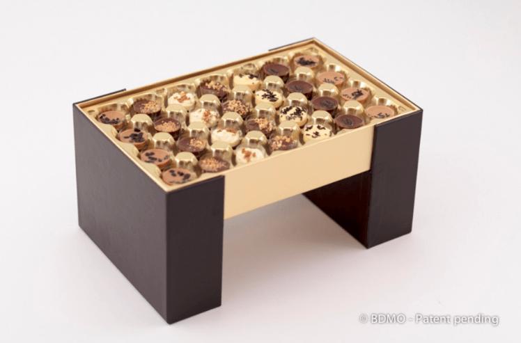 ekspozytor na czekoladki