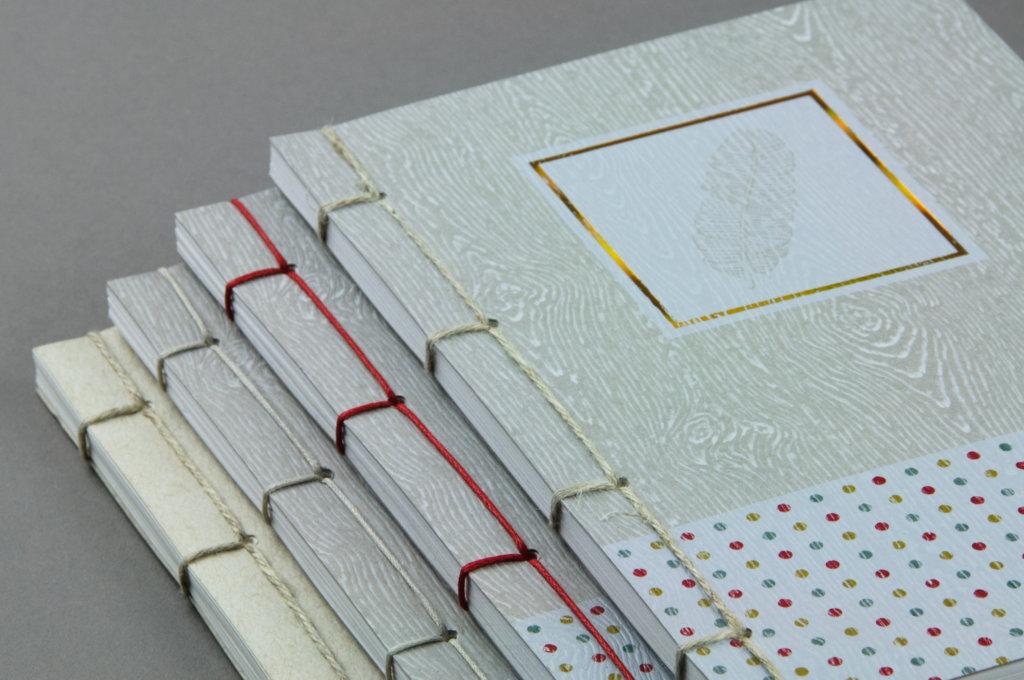 Notatniki z szyciem japońskim